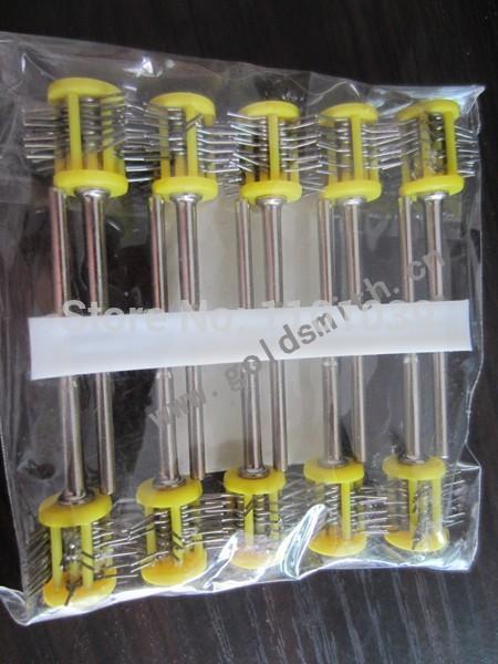 10pcs yellow color Matt Pro-Texturning Brushes wire dia : 0.45mm , jewlery making tools , matt wire brushes forward quadro 2 0 disc 17 2016 matt yellow