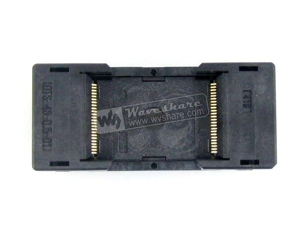 TSOP48 TSOP 48 OTS-48-0.5-01 TSOP48 TSOP 48 Enplas IC Test Burn-In Socket Programming Adapter 18.4mm Width 0.5mm Pitch