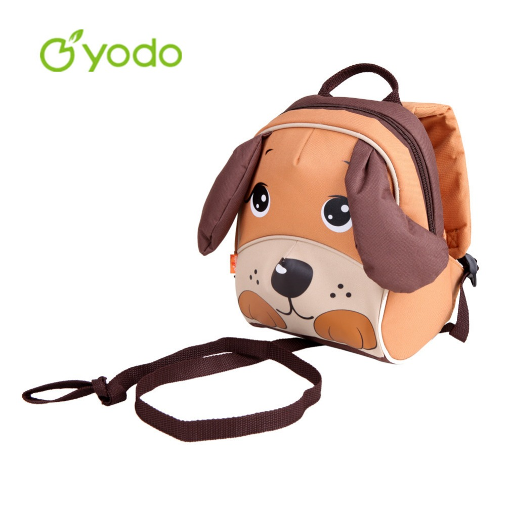 Yodo Children's Day Gift 3D Dog Toddler Backpack Anti lost Baby School Bags  For Girls Boys Insulated Thermal Mochila Escolas-in Backpacks from Luggage  ...