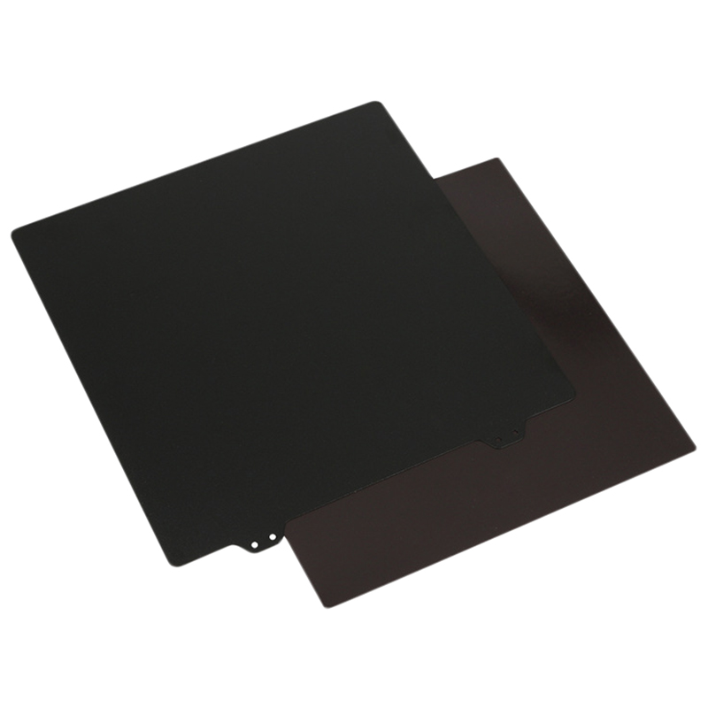 3D Printer Hot Bed Accessories 220Mm Double Layer Texture Pei Powder Steel Plate + Magnetic Sticker B Surface For Anet A8 A6 W-in 3D Printer Parts & Accessories from Computer & Office