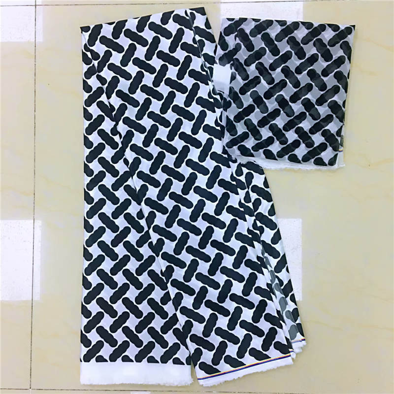 DF 2019 imitated silk fabric african print fabric african fabric wholesale nigerian ankara fabrics african wax