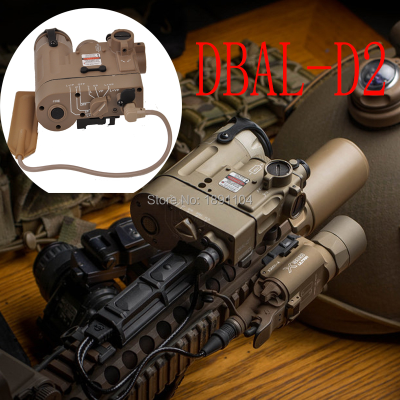 Element Tactical Flashlight DBAL D2 Red IR Laser and Led Torch DBAL EMKII Weapon Light ST328