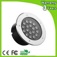 (4 Pz/lotto) Garanzia 3 Anni 12 W 18 W 36 W RGB LED Sotterraneo Lampada di Inondazione Sepolto Da Parete Washer Spot Light
