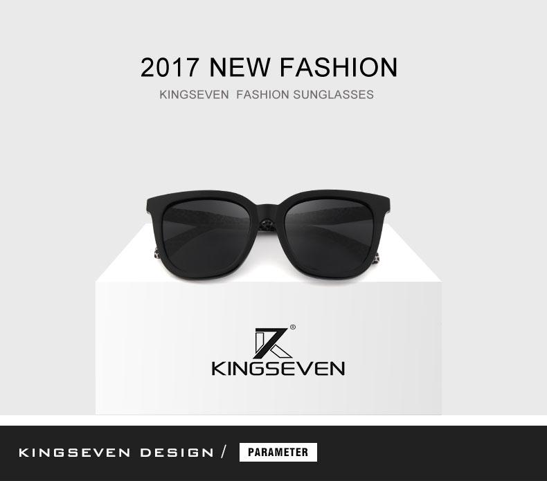KINGSEVEN Vintage Style Sunglasses Women Brand Designer Shades Polarized Lens Sun Glasses Fashion Sunglasses Oculos De N7810 1