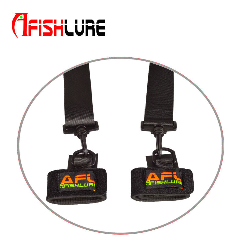 Afishlure Fishing Rod Carry Strap Bait Cast Rods Travel Belt Replacing for Fish Rod Bags Carrying Shoulder Strap Fishing Tackle