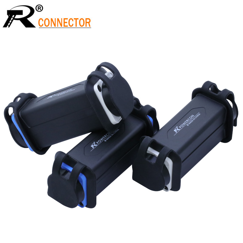 1pc Waterproof LED PowerCon AC Coupler Adapter Extender Connector High Quality Speakon Panel Mount Straight Adapter