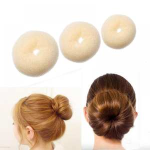 Hair Bun Maker Donut Magic Foam Sponge Easy Big Ring Hair Styling Tools Products Hairstyle