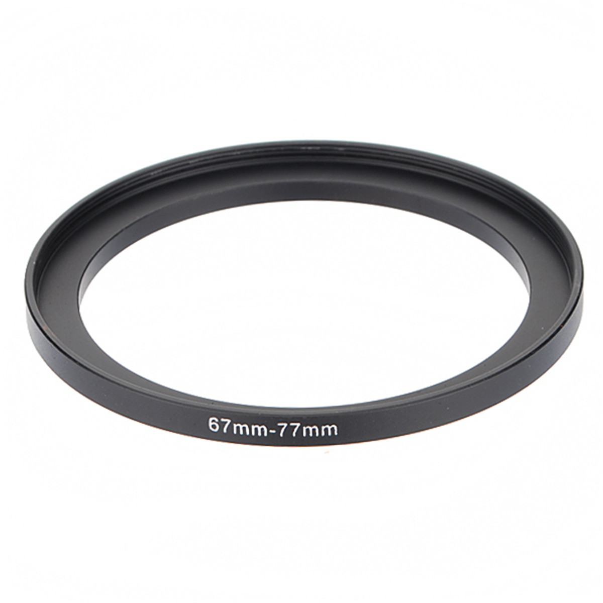 67-77mm 67mm-77mm 67 to 77 Metal Step Up Lens Filter Ring Stepping Adapter Black For Digital Camera DSLR SLR