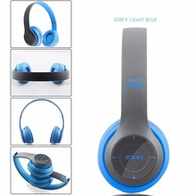 Stereo Handsfree Headfone Audio Bluetooth Headset Earphone Cordless Wireless Headphone for Computer PC Aux Head Phone Set