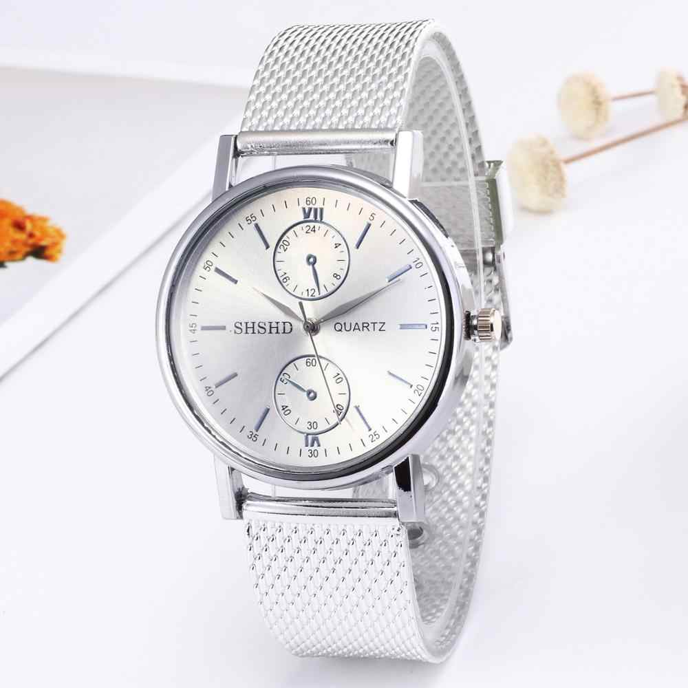 Hot Soft Belt Mesh Lady Watch Sports Fashion Watches Boys Girls Colorful Quartz Wrist Watches C11