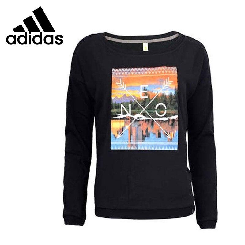 Original Adidas NEO Etichetta delle Donne Stampato Pullover Maglie Sportive in Original Adidas NEO Etichetta delle Donne Stampato Pullover Maglie Sportiveda ...