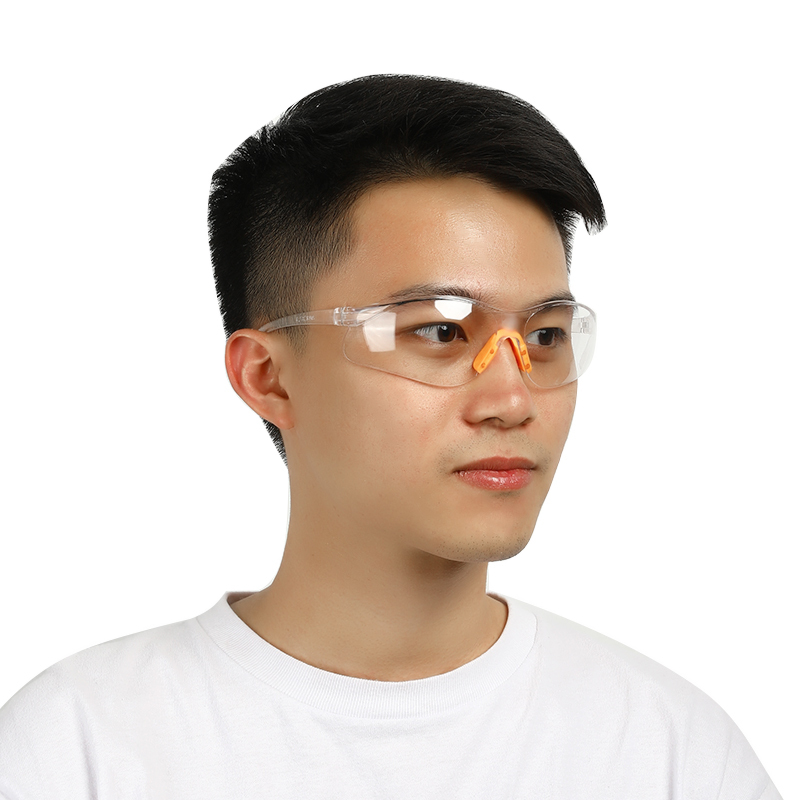 Transparent Dust-Proof Glasses Safety Anti-impact Working Glasses Lab Eyewear Splash Protective Anti-wind Glasses Goggles