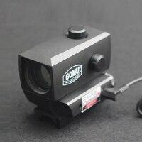 Red Dot Laser Sight 1X Optical Gun Sight Weapon Optical Sighting LS014