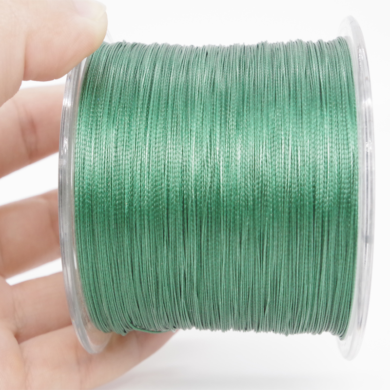 500m fishing tackle shop carp fly ice fishing 8 strands for Braided ice fishing line