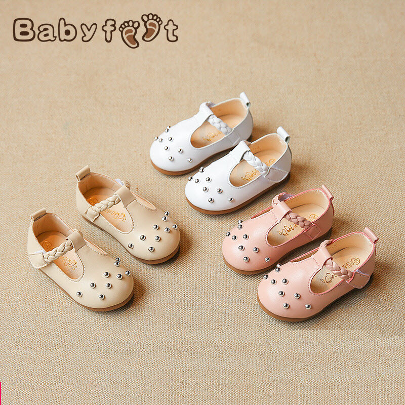Babyfeet children shoes Little baby girl shoes princess ballet pumps Kids PU Leather shoes toddler girls sapatos infantil menina babyfeet summer cool toddler shoes 0 2 year old newborn baby girl