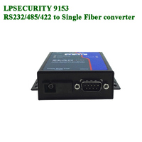 ZLAN9153 Fiber Serial Device Server RS232 RS485 RS422 Serial port to Single mode single fiber Data transparent transmission