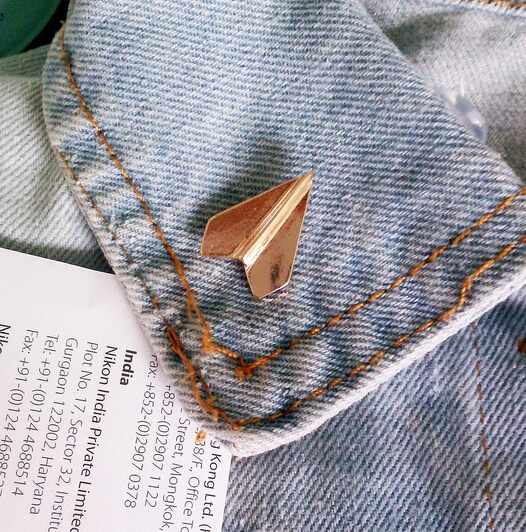 Exquisite Airplane Brooch Pins