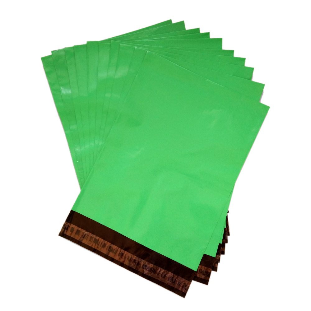 Green Poly Mailer Plastic Shipping Mailing Bag Sampul surat pembungkusan pos oleh Mail Package Courier Self-Adhesive Bulk Wholesale