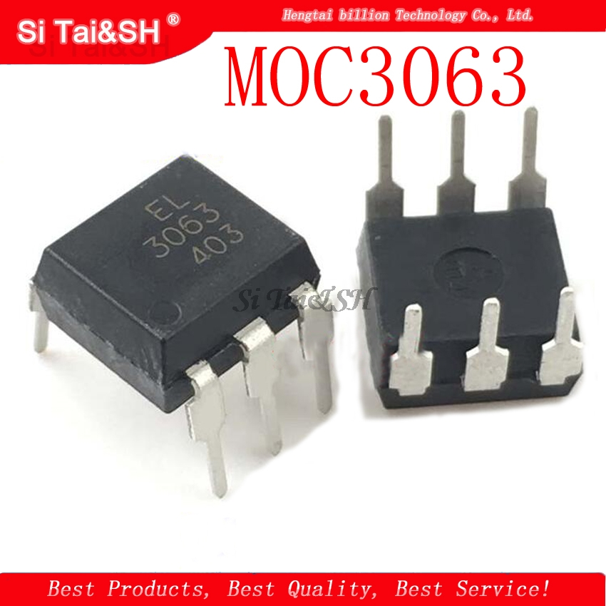 10pcs/lot MOC3063 DIP6 DIP New And Original IC