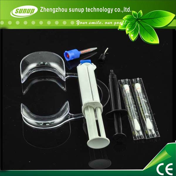 5kits Promotion Price Dentist Dental Professional Whitening Bleaching Kit Dual Barrel Gel System With 35 hp