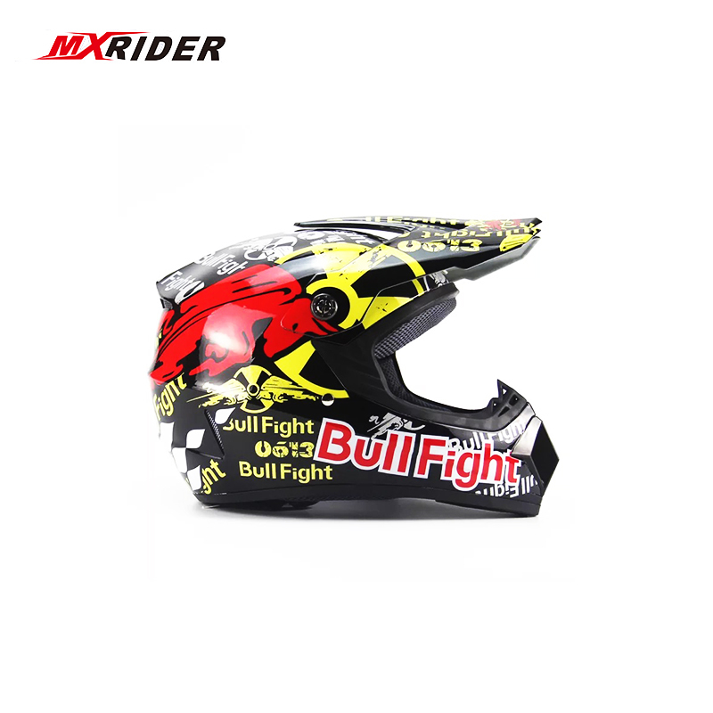 MXRIDER Motocross Helmet Off Road ATV Cross Helmets MTB DH Racing Motorcycle Helmet Dirt Bike Capacete de Moto casco