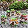 Сад  двор  балкон  орнамент  балкон  карликовый эльф  горшечные цветы  цилиндр  украшение для сада  домашний декор  Миниатюрный Сад