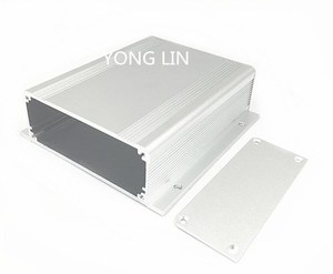 1 шт. алюминиевая коробка 114*37,5-120 мм/Автомобильный корпус/корпус маршрутизатора/защитный экранирующий корпус/корпус адаптера