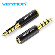 Vention Audio Adapter 3.5mm Male to 2.5mm Female Jack Aux Adapter Gold