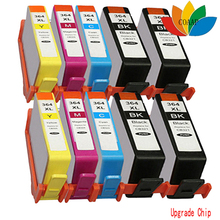 10 x Compatible hp 364 364xl ink cartridge for hp Photosmart B110a B109n B109q B110a B110C B110D B110e Wireless e-All-In-One