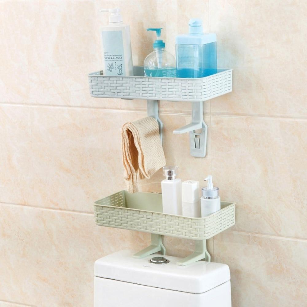 Multifunctional Shelf Bathroom Shelf Wall Hanging Bathroom ...