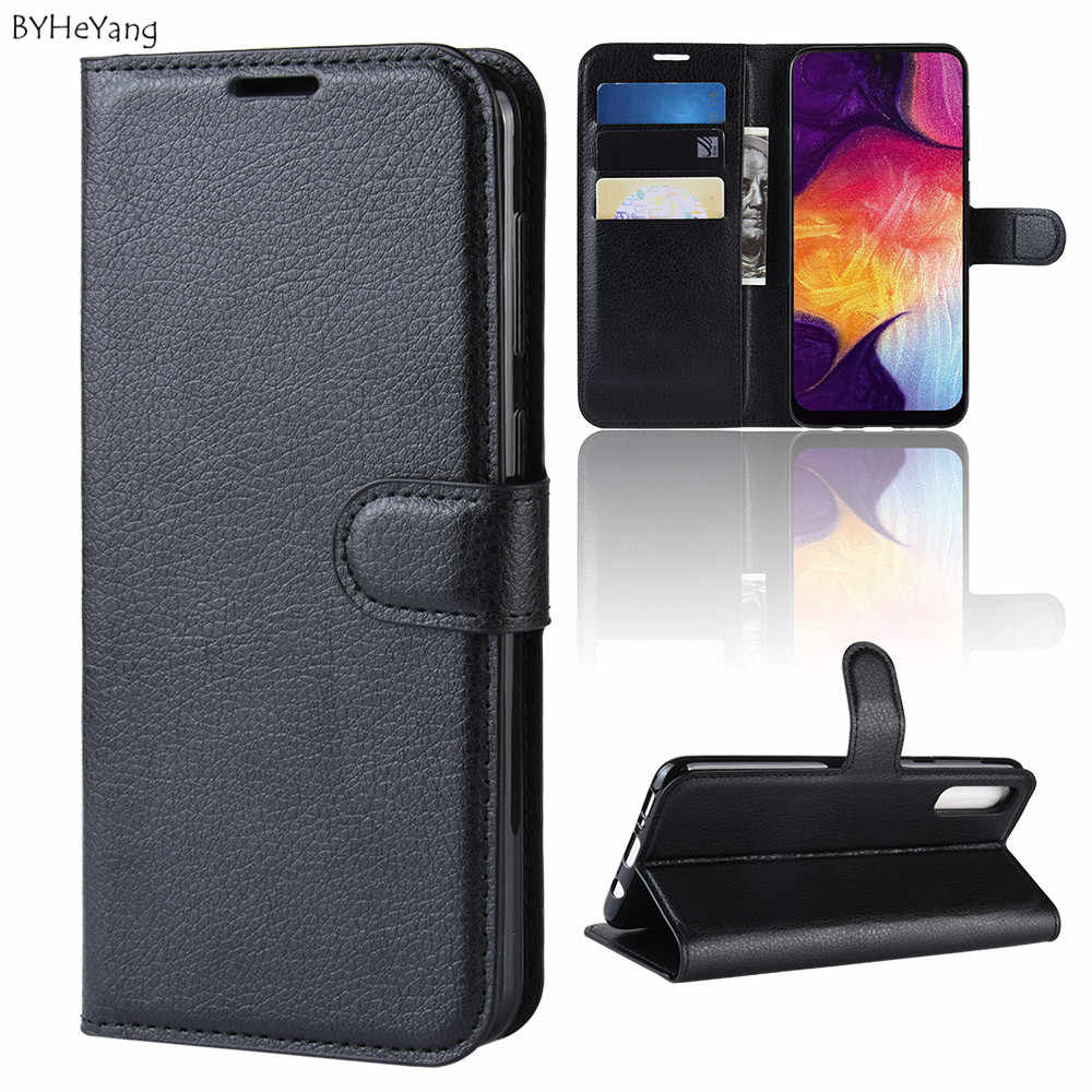 quality design eecac c9cd9 For Samsung Galaxy A50 Case A505F A505 A 50 Flip leather Stand Phone Case  For Coque Galaxy A50 Luxury Card Holder case a50 bags