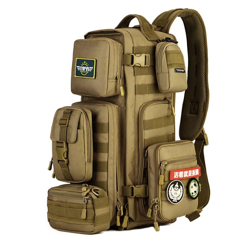Prix pour Militaire 20L MOLLE Tactique Camping Randonnée Racksacks D'épaule Sacs pour La Chasse Camping Trekking