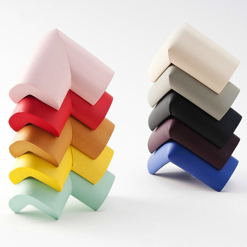8 Pcs/lot Baby Safety Edge Corner Guards Soft Corner Table Protector Child Safety Security Safe Proof Cushion Guards Protector