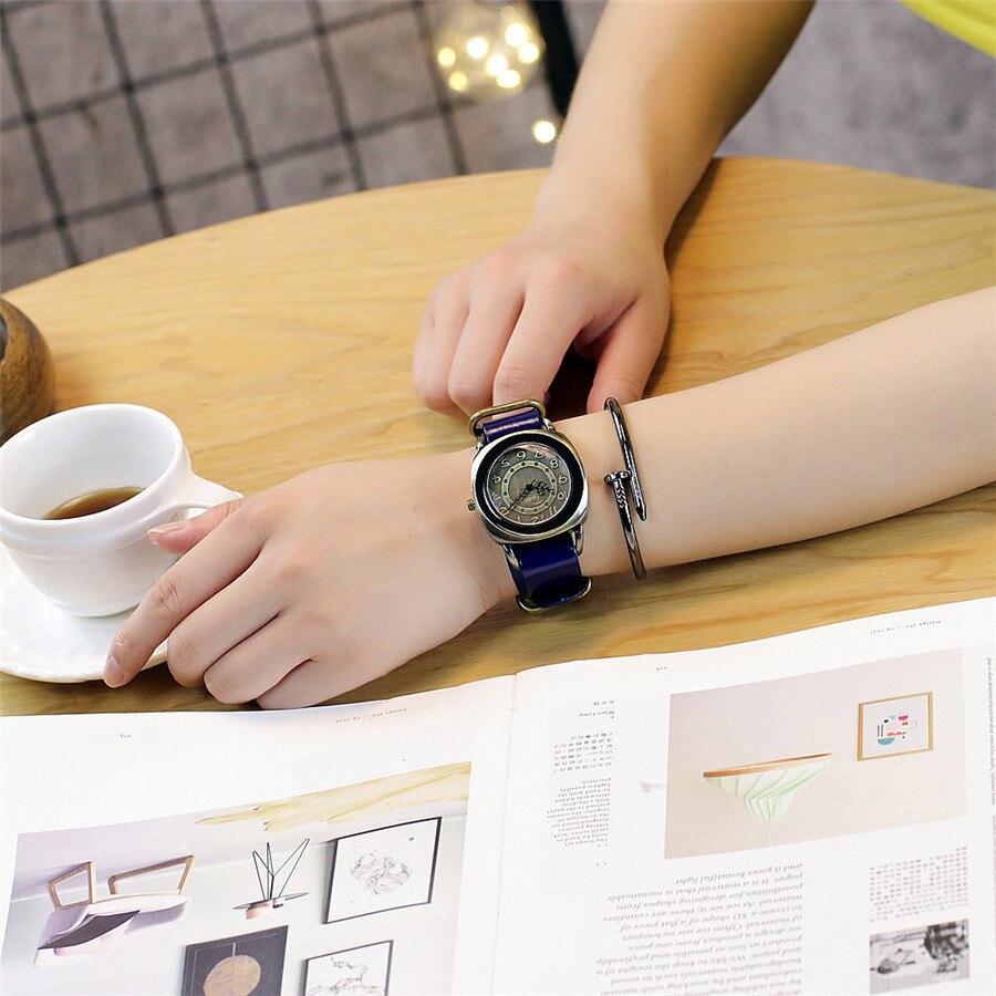 Tydda merk damesmode creatieve lederen armband horloges casual - Dameshorloges - Foto 5