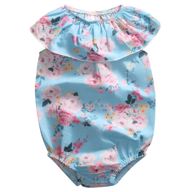 Pudcoco 2017 Newborn Toddler Infant Baby Girls Floral Romper Jumpsuit Sunsuit Clothes 0-24M Outfit fashion 2pcs set newborn baby girls jumpsuit toddler girls flower pattern outfit clothes romper bodysuit pants