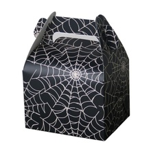 Creative Holiday Candy Box European Halloween Spider Style Gift Chocolate Wedding wholesale gift box 50/pcs