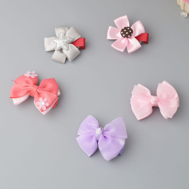 YYXUAN Little Girl Boutique Grosgrain Ribbon Hair Bows Alligator Clips For Teens Kids Toddlers Children Pack 10 inches huge big bow clip boutique hair bows for teens girls kids children women alligator hair clips grosgrain ribbon bows