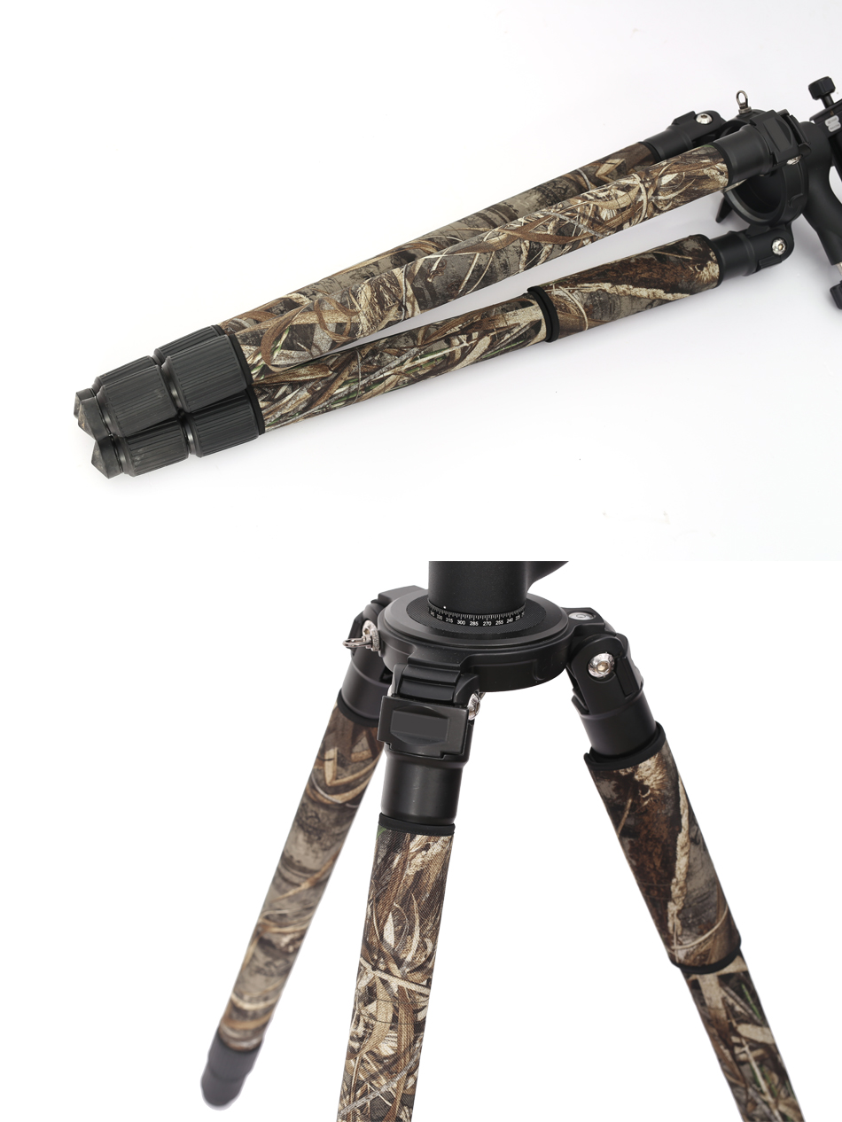 ROLANPRO Factory Direct Fashion Personality Tripod Camouflage Sleeve/Leg Freeze Good Quality For Gitzo Manfrotto Benro RRS Sirui штатив gitzo gt1555t