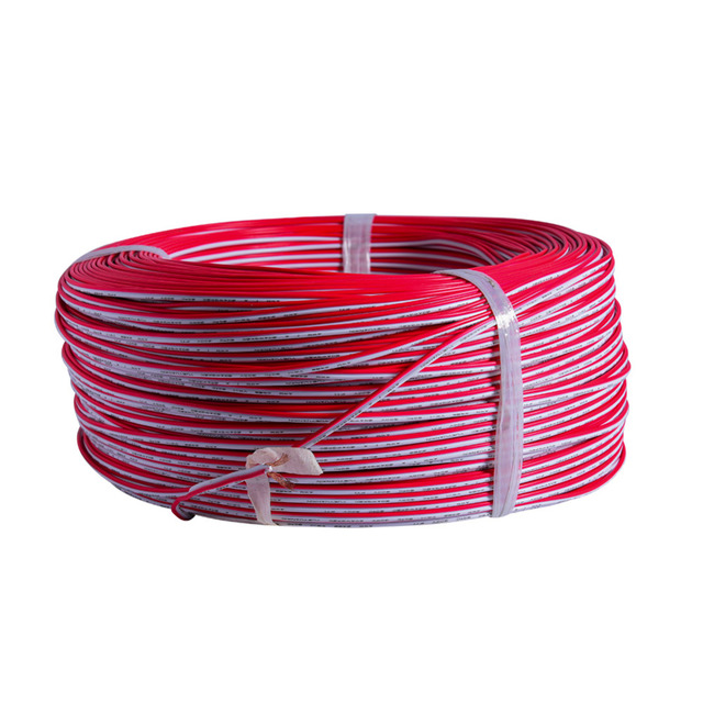 100m Roll LED Strip Light Extention Cable Cord Wire Tinned Copper 22AWG 2PIN Red