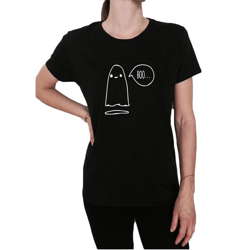funny halloween boo tshirt tee shirt funny slogan womens cute ghost boo halloween t shirt - Halloween Slogans