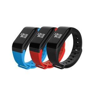 Image 2 - NAIKU Fitness Tracker F1 Slaap Tracker Smart Armband Hartslagmeter Waterdicht Smart Band Activiteit Tracker voor iPhone