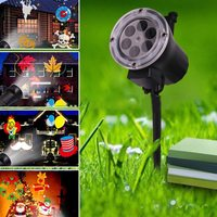 Led Christmas Decoration Outdoor Tree Projection Lamp
