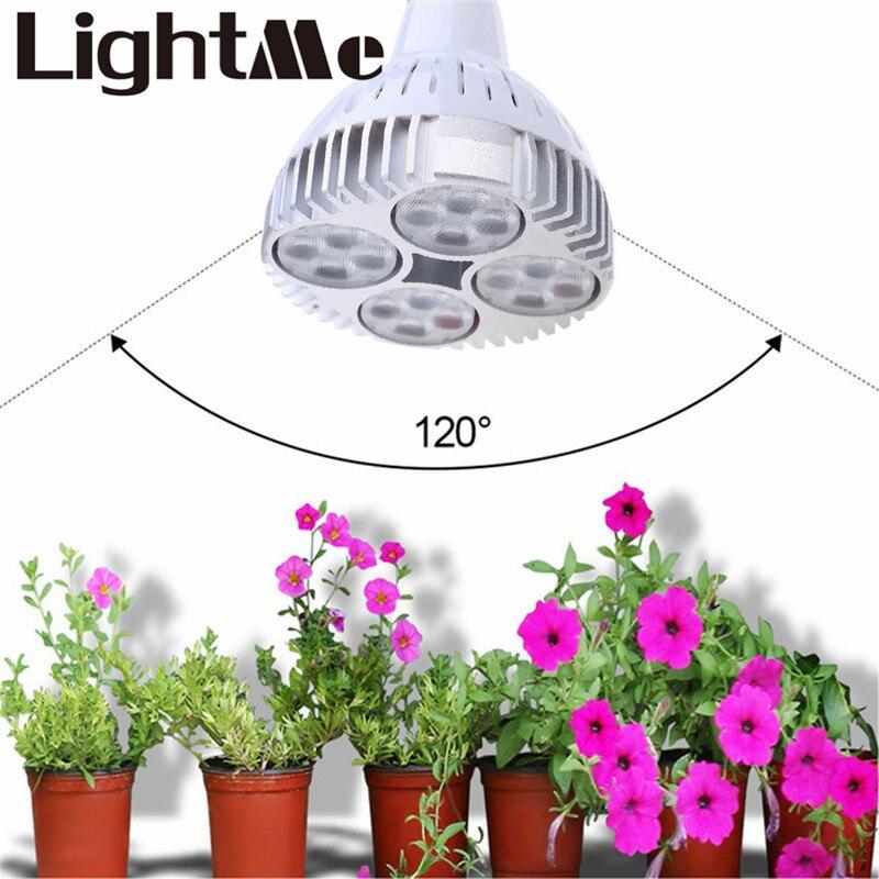 ФОТО 2016 New High Quality Hot Selling E27 12W 35W AC 85 - 265V 12 16 LEDs Plant Grow Light Full Spectrum Lamp Add Light To Plants
