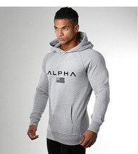 Men's Gym Hoodies Fitness Bodybuilding Sweatshirt Crossfit