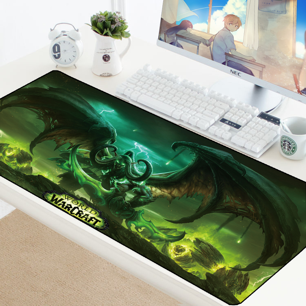 Xl World Of Warcraft Gaming Mouse Pad Large Customized
