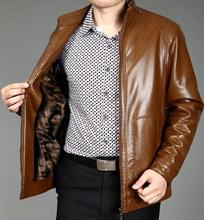 Stand collar man pu leather jacket men casual leather jackets male clothing brand mens faux leather coats spring autumn korean enjeolon brand new arrive motorcycle leather jackets men autumn winter clothing zipper stand collar male casual black coats