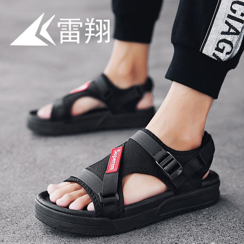 2018 summer beach shoes outdoor breathable men and women shoes ring flat sandals size 36-44 new arrival