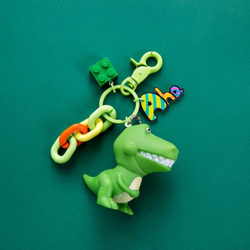 New Toy Story 4 Keychain Forky Coelho Dos Desenhos Animados Buzz Lightyear Alienígena Figuras Brinquedos Chaveiro Para Crianças Presentes Pingente