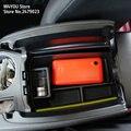 Bandejas de Tampa da Caixa de Armazenamento Center Console apoio de Braço carro Para Mercedes Benz GLK classe x204 GLK200 220 250 260 300 350