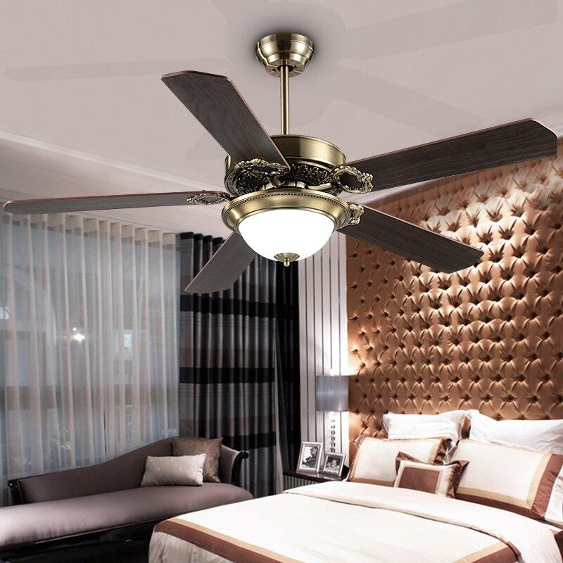 Compra ventiladores de techo decorativos online al por mayor de china mayoristas de - Ventiladores de techo antiguos ...